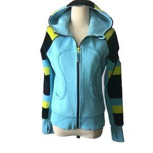 Lululemon 6 remix shades of blue hoodie